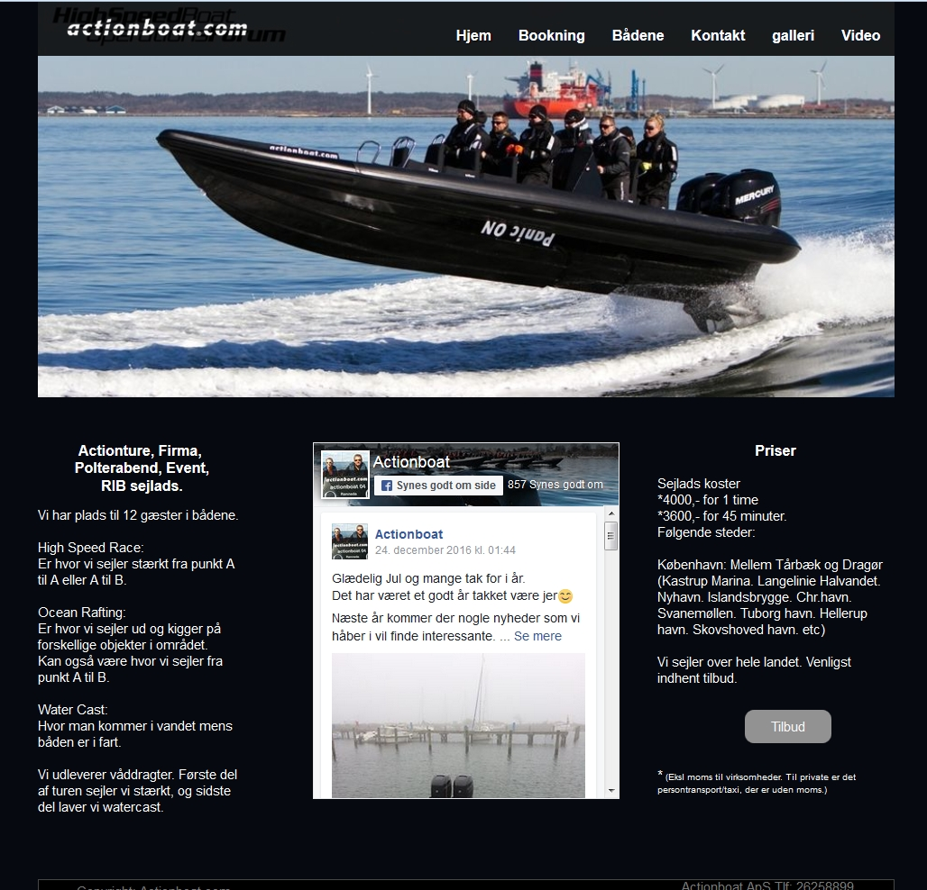 Detaljer : Actionboat ApS